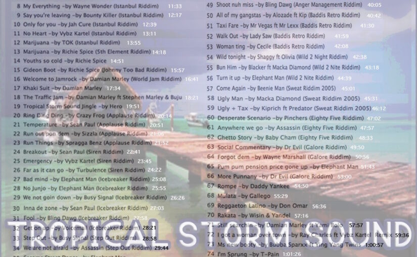 Tropical Storm Soundsystem INTL Reggae Street Demo 4 (Digital) [2006] [Explicit]