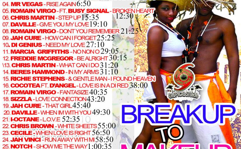 Tropical Storm Soundsystem INTL Reggae Street Demo 12 [2012] -Digital Break up to make up